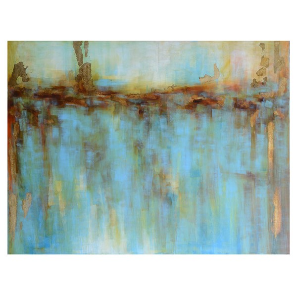Crestview Collection Golden Reflection Wall Art CRST-CVTOP2129