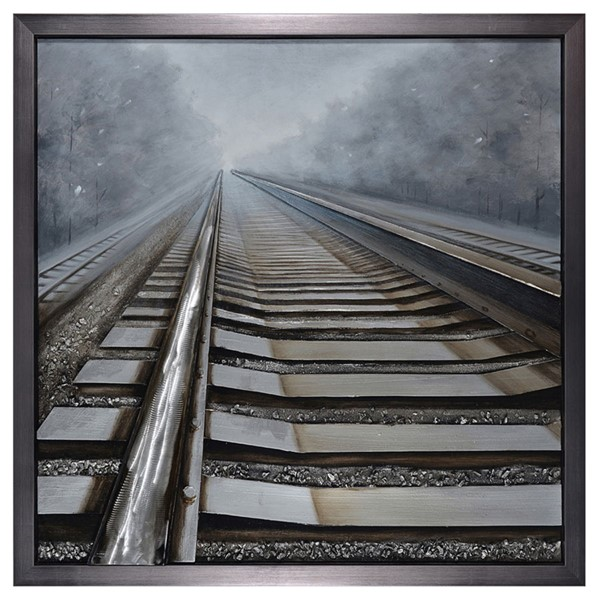 Crestview Collection Shining Way Oil Painted Wall Art CRST-CVTOP2172