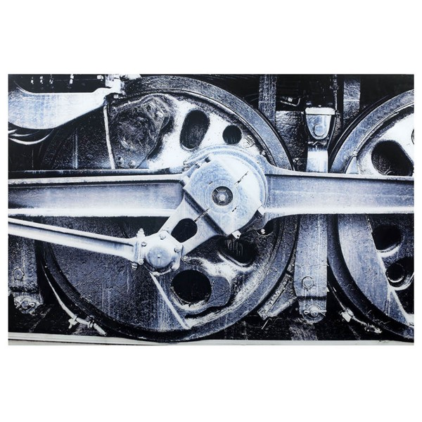 Crestview Collection Iron Horse Tempered Glass Wall Art CRST-CVTOP2272