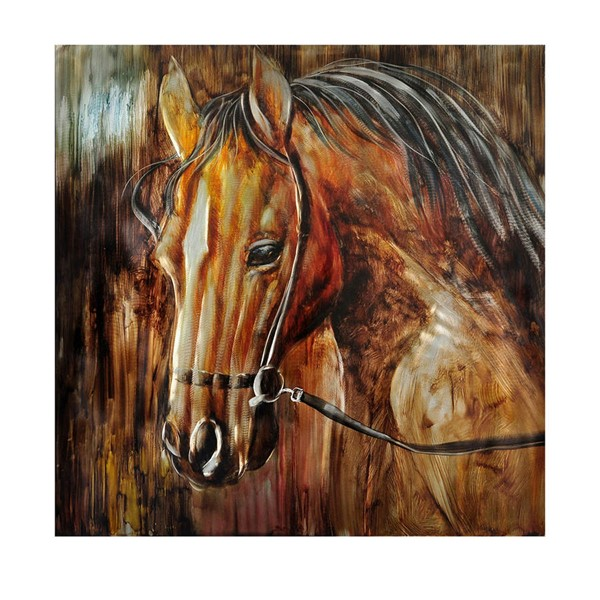 Crestview Collection Destry Handmade Painting Wall Art CRST-CVTOP2295