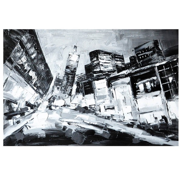 Crestview Collection Deep City Canvas Wall Art CRST-CVTOP2301