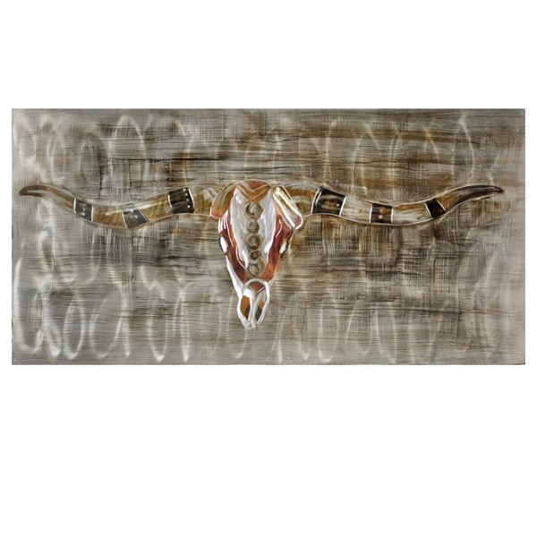 Crestview Collection Exiled Hand Painted Aluminum Wall Art CRST-CVTOP2428