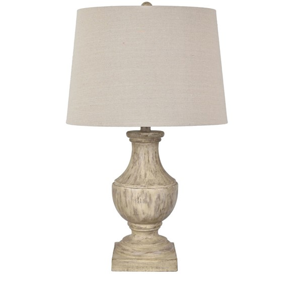 Crestview Collection Brown Resin Table Lamp CRST-EVAVP1370