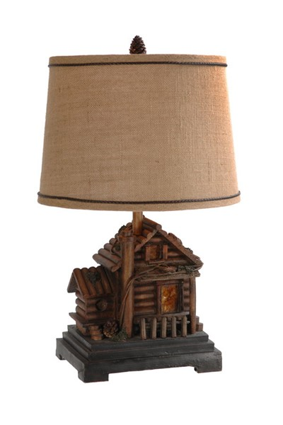 Crestview Collection Homestead Cabin Table Lamp CRST-CIAUP506
