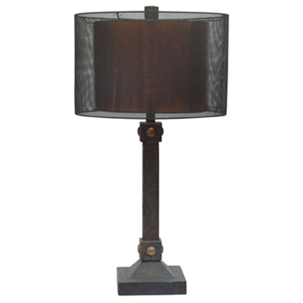 Crestview Collection Montana Bronze Table Lamp CRST-CIAUP535