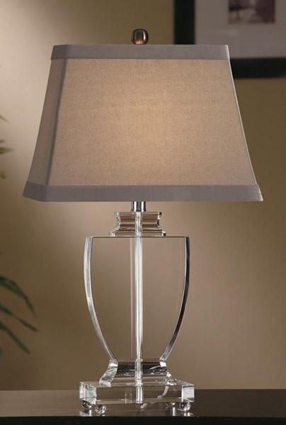 2 Crestview Collection Alma Cream Table Lamps CRST-CVABS382R