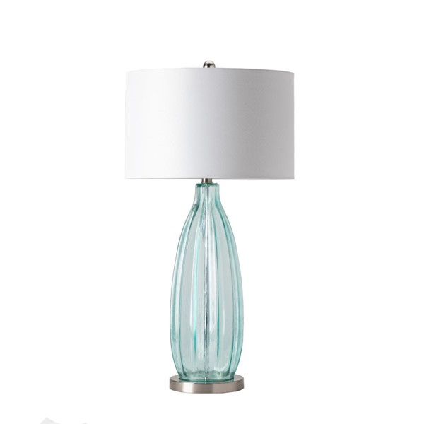 2 Crestview Collection Blue White Sea Breeze Table Lamps CRST-CVABS758