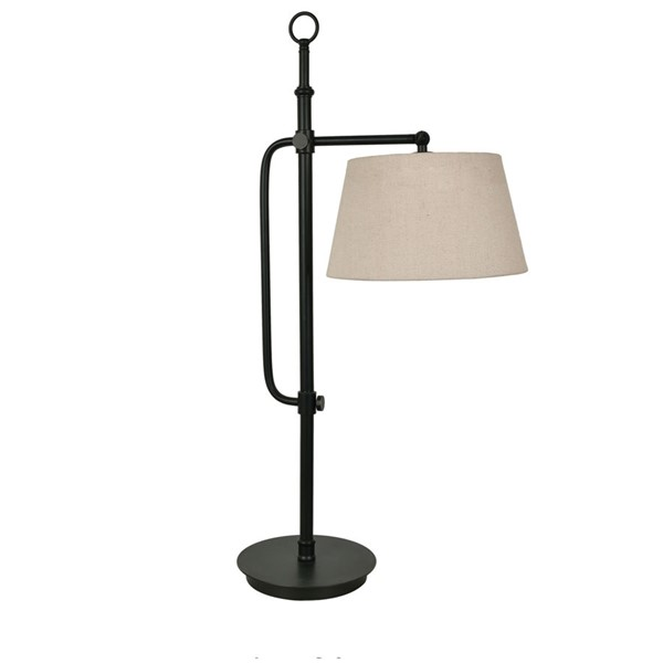 2 Crestview Collection Berwick Bronze Natural Table Lamps CRST-CVAER1119