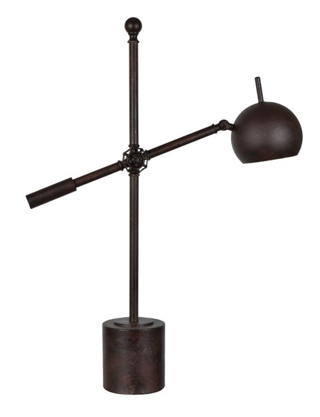 Crestview Collection Leighton Rustic Task Lamp CRST-CVAER1361