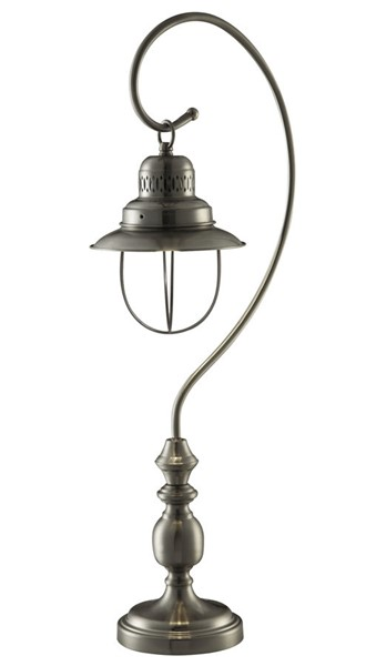 2 Crestview Collection Somerset Brushed Table Lamps CRST-CVAER345