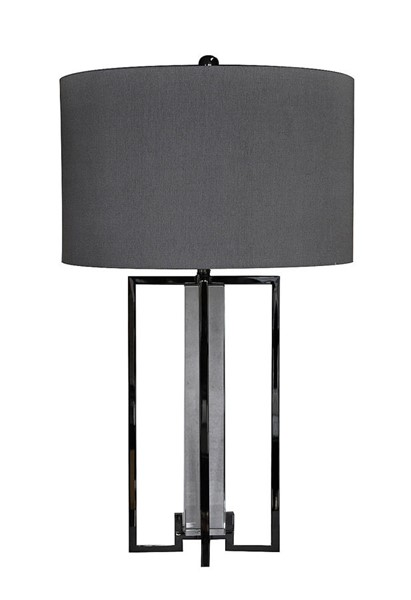 Crestview Collection Tensdale Black Grey Table Lamp CRST-CVAER359