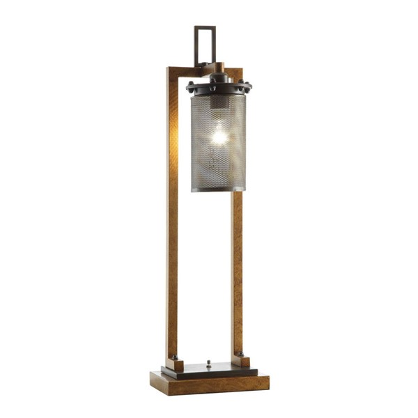 Crestview Collection Gibson Metal Table Lamp CRST-CVAER744SNG