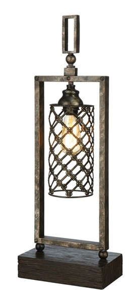 Crestview Collection Baker Antique Table Lamp CRST-CVAER823