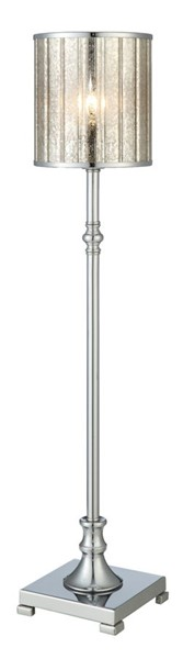 Crestview Collection District Chrome Buffet Floor Lamp CRST-CVAER901
