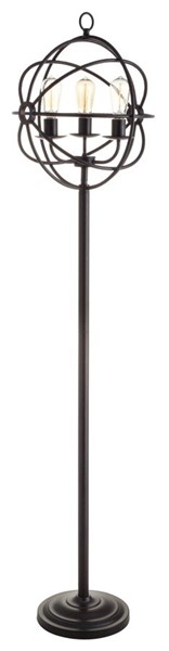 Crestview Collection Global Bronze Metal Floor Lamp CRST-CVAER982B3
