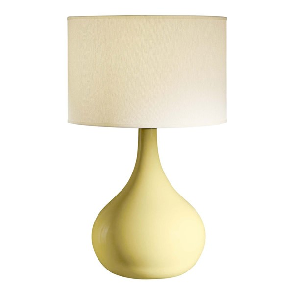 Crestview Collection Cabot Yellow Table Lamp CRST-CVAP1340B