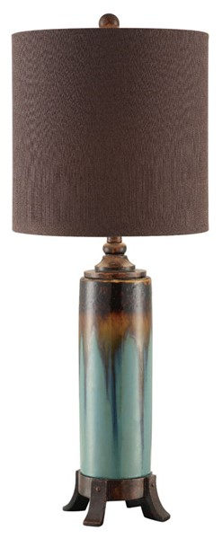 Crestview Collection Briston Mocha Table Lamp CRST-CVAP1653