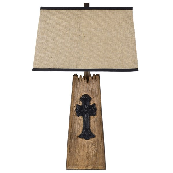 Crestview Collection Old Cross Table Lamp I CRST-CVAVP1534