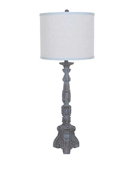 Crestview Collection Parisian Grey Table Lamp CRST-CVAVP164
