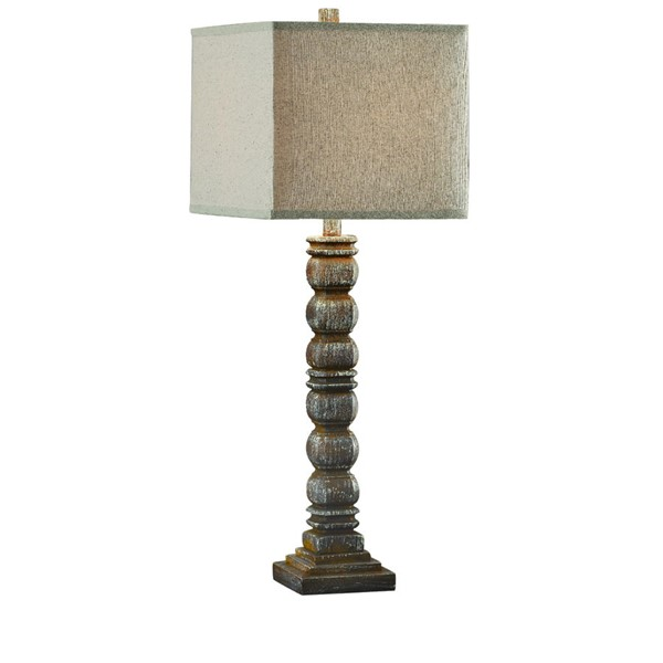 2 Crestview Collection Hurst Antique Brown Table Lamps CRST-CVAVP166