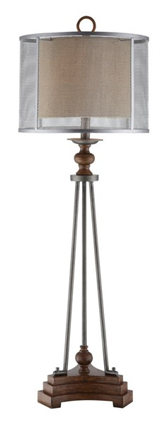 Crestview Collection Kenwood Burlap Table Lamp CRST-CVAVP421