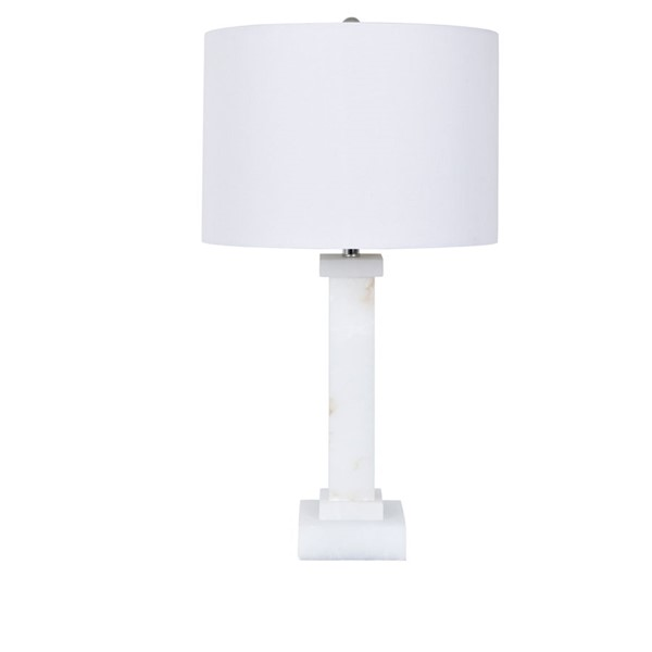 Crestview Collection Kinsley White Table Lamp CRST-CVAVP854