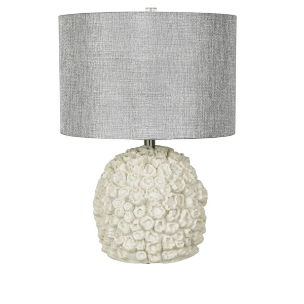 Crestview Collection Sea Life White Grey Table Lamp CRST-CVAVP862