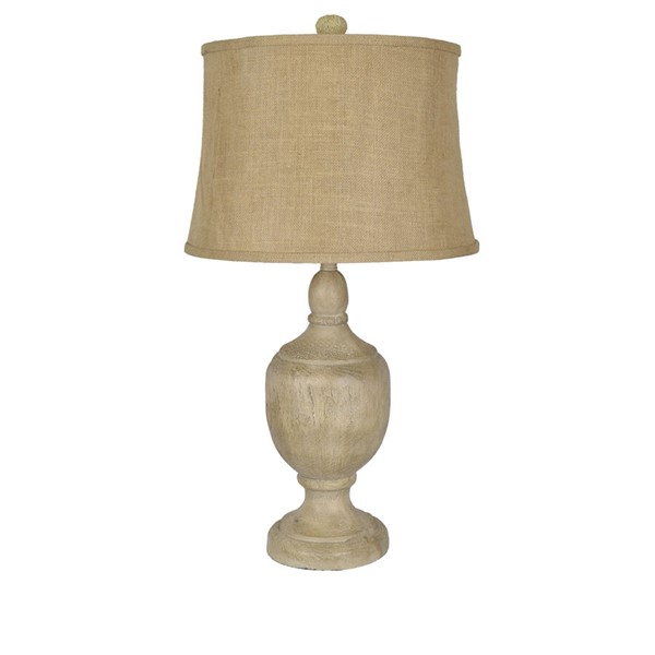 Crestview Collection Carson Burlap Table Lamp CRST-CVAVP892