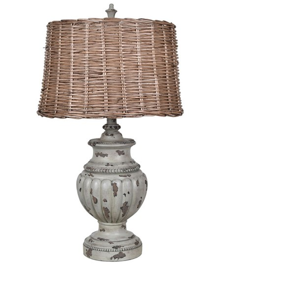 Crestview Collection Adeline Blue Natural Table Lamp CRST-CVAVP921