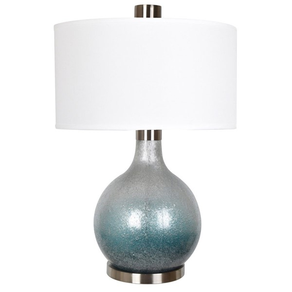 Crestview Collection Celest Green Glass Table Lamp CRST-CVAZBS028