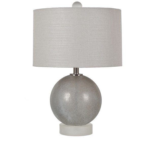 Crestview Collection Omni Gray Table Lamp I CRST-CVAZBS056