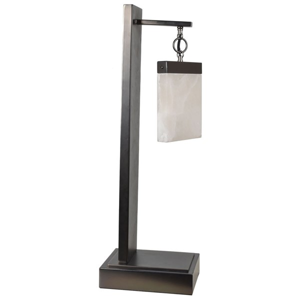 Crestview Collection Aimes Bronze Table Lamp with LED Light CRST-CVAZER067