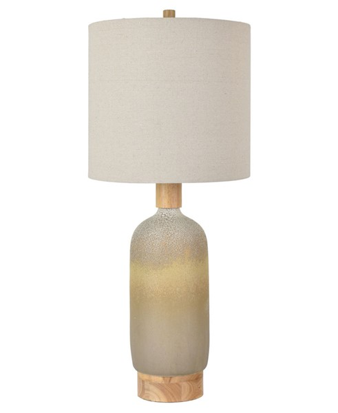 Crestview Collection Bella Vista Natural Bottle Lamp CRST-CVAZP055