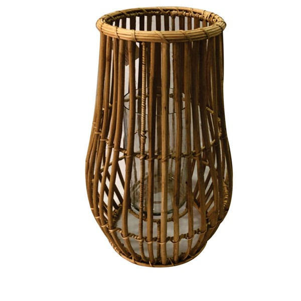 Crestview Collection Marlee Natural Cane Medium Candle Holder CRST-CVCZHN014S