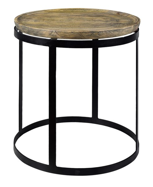 Crestview Collection Bengal Manor Mango Wood End Table CRST-CVFNR465
