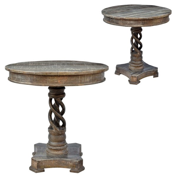 Crestview Collection Bengal Manor Twist Accent Table CRST-CVFNR602