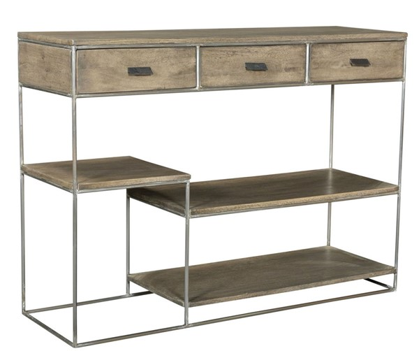Crestview Collection Bengal Manor Mango Wood Offset Tier Console Table CRST-CVFNR689