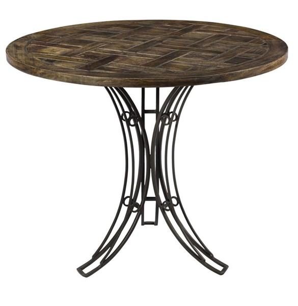 Crestview Collection Bengal Manor Round Accent Table CRST-CVFNR700