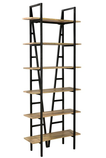 Crestview Collection Bengal Manor Light Narrow Etagere Bookcase CRST-CVFNR718