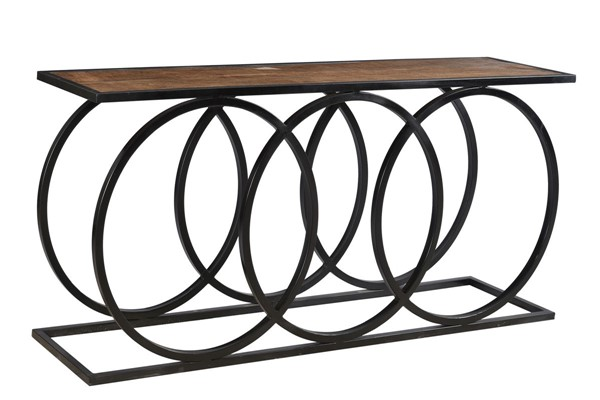 Crestview Collection Bengal Manor 3 Circles Console Table CRST-CVFNR723