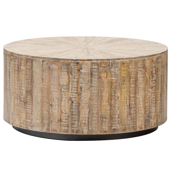Crestview Collection Bengal Manor Round Cocktail Table CRST-CVFNR820