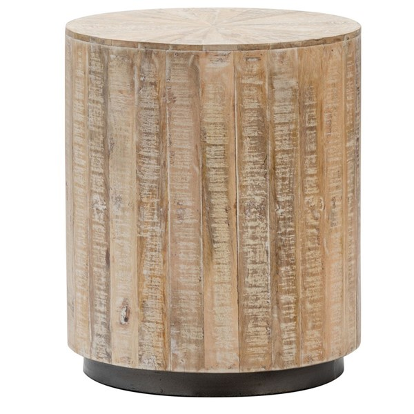 Crestview Collection Bengal Manor Round End Table CRST-CVFNR821