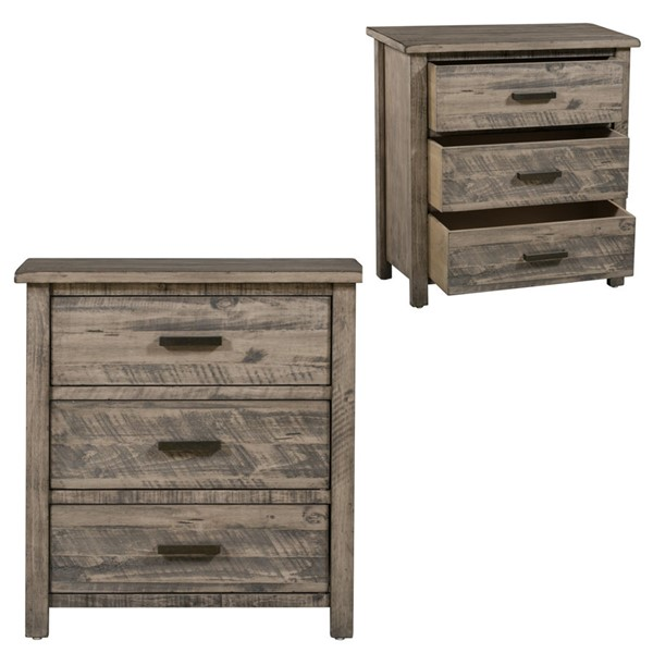 Crestview Collection Hawthorne Estate Distressed Grey Chest CRST-CVFVR8054