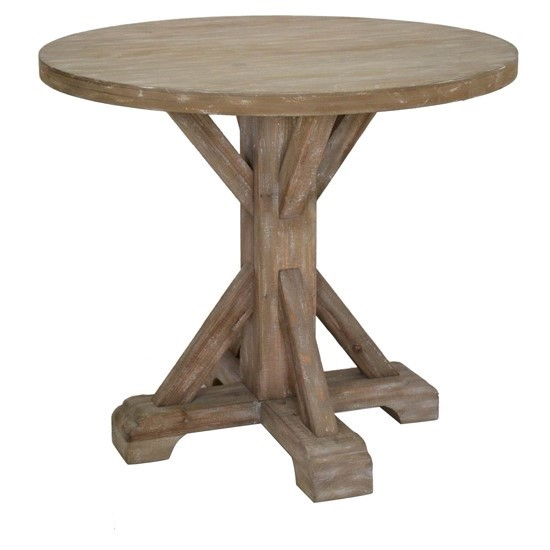 Crestview Collection Sonoma Rustic Wood Large Accent Table CRST-CVFZR4527