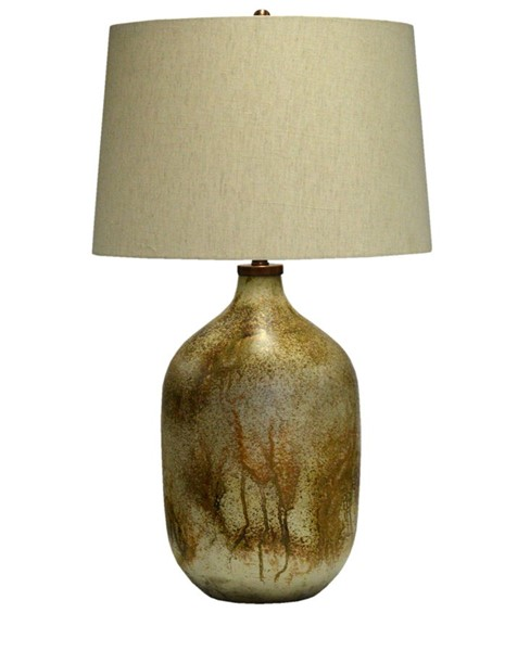Crestview Collection Chambers Bronze Natural Table Lamp CRST-CVIDZA020