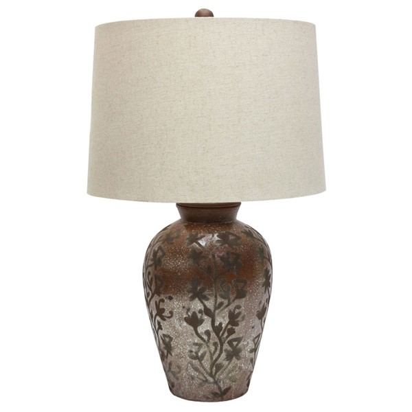 Crestview Collection Austin Natural Table Lamp CRST-CVIDZA039