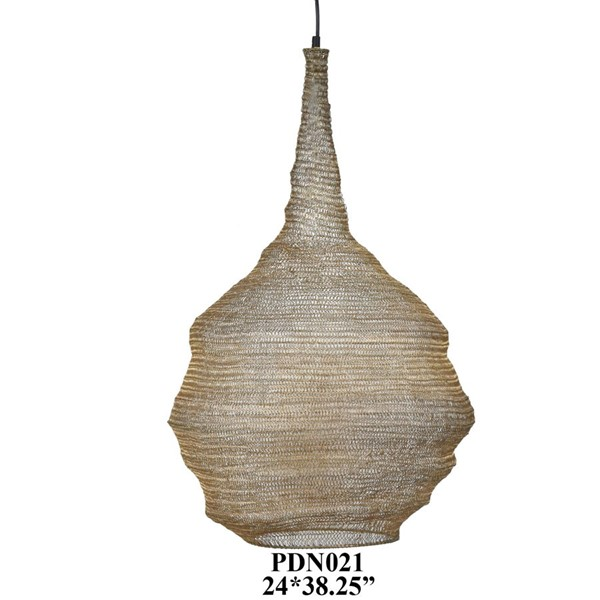 Crestview Collection Link Large Pendant Lamp CRST-CVPDN021