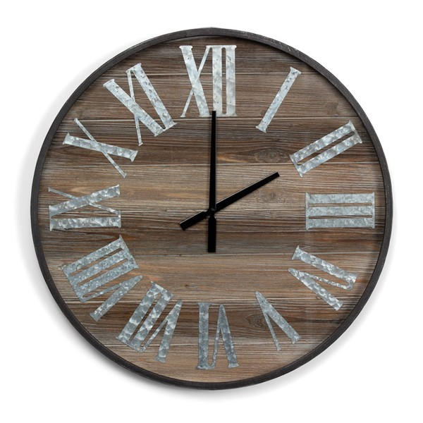 Crestview Collection Recesed Time Wall Clock CRST-CVTCK1133