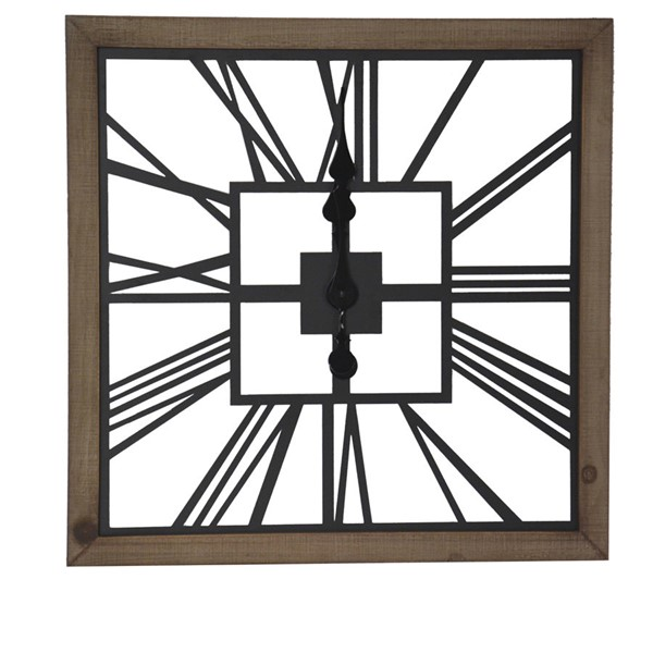 Crestview Collection Time Square Wall Art CRST-CVTCK1170