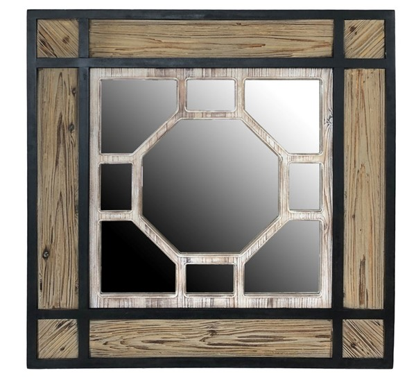Crestview Collection Cody Square Mirror CRST-CVTMR1768